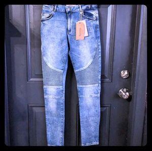 Bershka Skinny Motto Jeans NWT